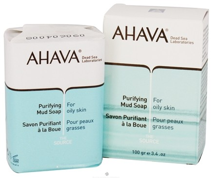 DROPPED: AHAVA - The Source Bar Soap Purifying Mud For Oily Skin - 3.4 oz. CLEARANCE PRICED