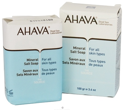 DROPPED: AHAVA - The Source Bar Soap Mineral Salt For All Skin Types - 3.4 oz. CLEARANCE PRICED