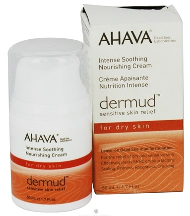 DROPPED: AHAVA - Dermud Sensitive Skin Relief Intense Soothing Nourishing Cream For Dry Skin Fragrance-Free - 1.7 oz. CLEARANCE PRICED