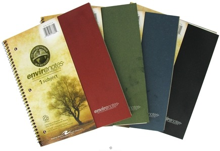 """DROPPED: Roaring Spring - Environotes Notebook 1 Subject College Ruled Recycled 11"""" x 9"""" - 100 Sheet(s) CLEARANCE PRICED"""