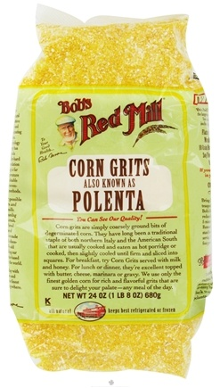 DROPPED: Bob's Red Mill - Corn Grits Polenta - 24 oz. CLEARANCE PRICED