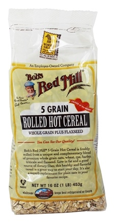 Bob's Red Mill - 5 Grain Rolled Hot Cereal - 16 oz.