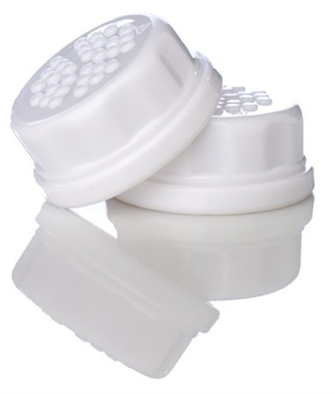DROPPED: Lifefactory - Solid Baby Bottle Caps - 2 Pack CLEARANCE PRICED