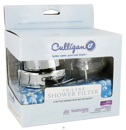 DROPPED: Culligan - In-Line Shower Filter Chrome ISH-200