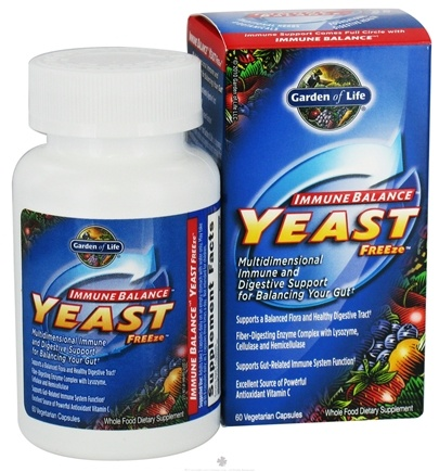 DROPPED: Garden of Life - Immune Balance Yeast FREEze - 60 Vegetarian Capsules CLEARANCE PRICED