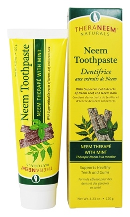 Organix South - TheraNeem Organix Toothpaste Neem Therape With Mint - 4.23 oz.