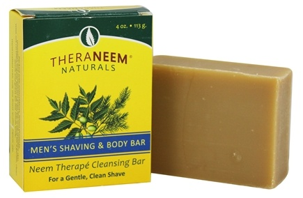 Organix South - TheraNeem Organix Cleansing Bar Men's Shaving & Body Bar - 4 oz.