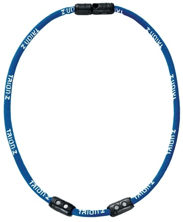 DROPPED: Trion:Z - Single Loop Magnetic Ionic Necklace Medium Blue - CLEARANCE PRICED