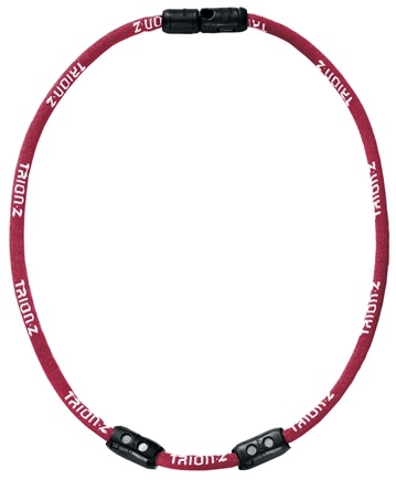DROPPED: Trion:Z - Single Loop Magnetic Ionic Necklace Large Red - CLEARANCE PRICED