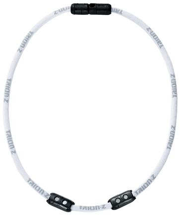 DROPPED: Trion:Z - Single Loop Magnetic Ionic Necklace Large White - CLEARANCE PRICED
