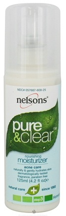 DROPPED: Nelsons - Pure & Clear Nourishing Moisturizer - 4.2 oz.