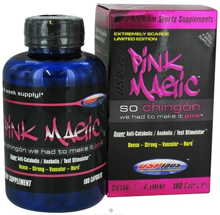 DROPPED: USP Labs - Pink Magic - 180 Capsules