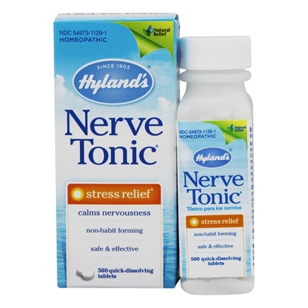 Hylands - Nerve Tonic Stress Relief - 500 Tablets