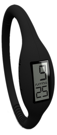 DROPPED: RumbaTime - Watch Original Collection Large Lights Out Black - CLEARANCE PRICED