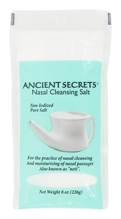 DROPPED: Ancient Secrets - Nasal Cleansing Salt Bag - 8 oz. CLEARANCE PRICED