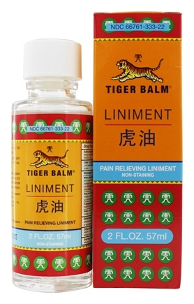 Tiger Balm - Liniment Penetrating Pain Relief - 2 oz.
