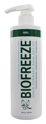 BioFreeze - Pain Relieving Gel with Pump - 16 oz.