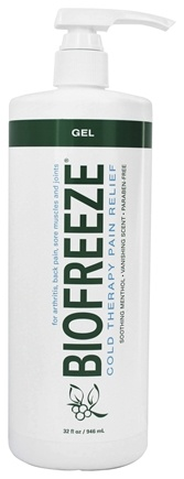 DROPPED: BioFreeze - Pain Relieving Gel with Pump - 32 oz.