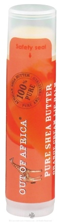 Out Of Africa - Pure Shea Butter Lip Balm Orange Cream - 0.15 oz. (Formerly with SPF15)