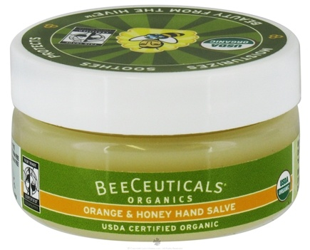 DROPPED: BeeCeuticals Organics - Hand Salve Orange and Honey - 2 oz.