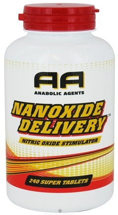 DROPPED: Anabolic Agents - Nanoxide Delivery Nitric Oxide Stimulator - 240 Tablets CLEARANCE PRICED