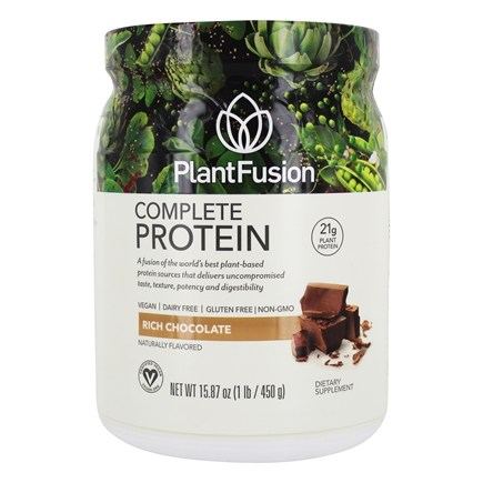PlantFusion - Complete Plant Protein Chocolate - 1 lb.