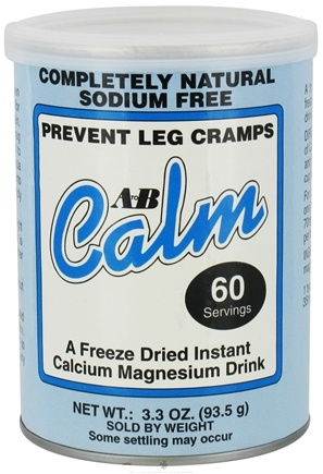 DROPPED: A to B Calm - Original Freeze-Dried Instant Calcium Magnesium Drink - 3.3 oz. CLEARANCE PRICED