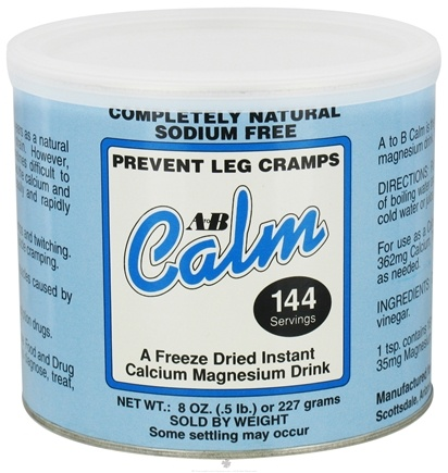 DROPPED: A to B Calm - Original Freeze-Dried Instant Calcium Magnesium Drink - 8 oz. CLEARANCE PRICED
