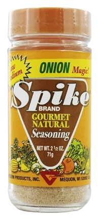 Modern Products - Spike Gourmet Natural Seasoning Onion Magic - 2.5 oz.