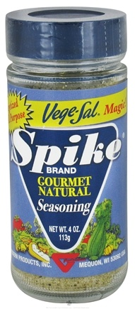 DROPPED: Modern Products - Spike Gourmet Natural Seasoning Vege-Sal Magic - 4 oz. CLEARANCE PRICED