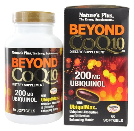 Nature's Plus - Beyond CoQ10 Ubiquinol 200 mg. - 60 Softgels