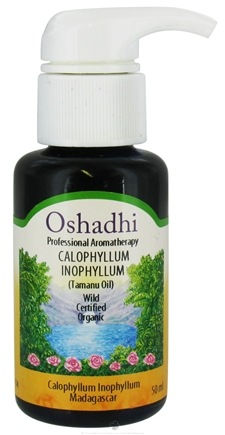 DROPPED: Oshadhi - Professional Aromatherapy Organic Tamanu Oil - 50 ml. CLEARANCE PRICED