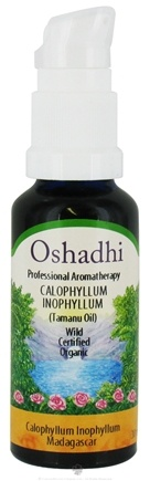 DROPPED: Oshadhi - Professional Aromatherapy Organic Tamanu Oil - 30 ml. CLEARANCE PRICED