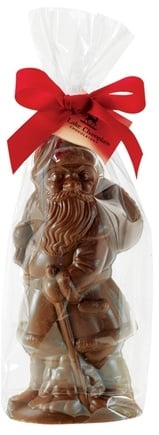 DROPPED: Lake Champlain Chocolates - UNPUBLISHED Milk Chocolate Christmas Santa 8 inches - 7 oz.