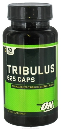 DROPPED: Optimum Nutrition - Tribulus 625 mg. - 50 Capsules CLEARANCE PRICED