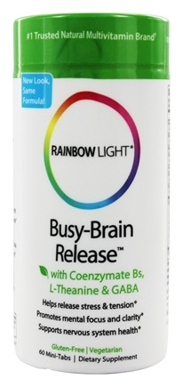 DROPPED: Rainbow Light - Busy-Brain Release Coenzymate B - 60 Mini-Tab(s)