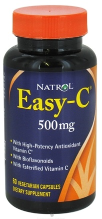 DROPPED: Natrol - Easy-C 500 mg. - 60 Vegetarian Capsules CLEARANCE PRICED