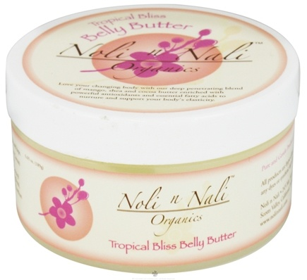 DROPPED: Noli n Nali Organics - Belly Butter Tropical Bliss - 6.65 oz. CLEARANCE PRICED