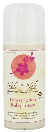 DROPPED: Noli n Nali Organics - Baby Lotion Forest Potion - 5.5 oz. CLEARANCE PRICED