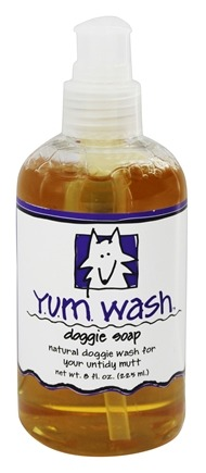 Indigo Wild - Yum Wash Doggie Soap Citronella, Lavender, Cedarwood - 8 oz.