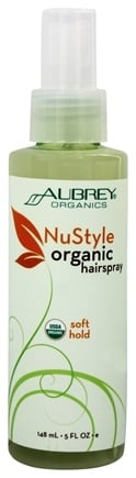DROPPED: Aubrey Organics - NuStyle Organic Hairspray Soft Hold - 5 oz.