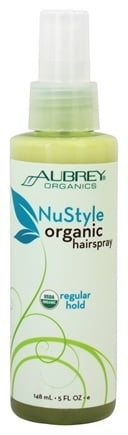 DROPPED: Aubrey Organics - NuStyle Organic Hairspray Regular Hold - 5 oz.