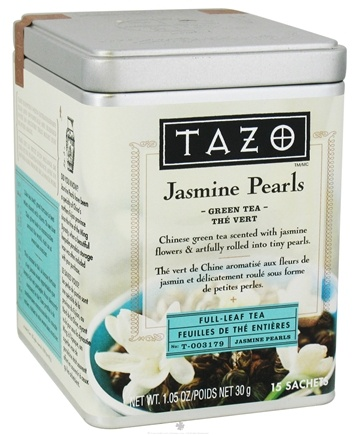 DROPPED: Tazo - Green Tea Full Leaf Tea Jasmine Pearls - 15 Bags