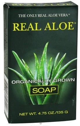 DROPPED: Real Aloe - Organically Grown Aloe Vera Bar Soap - 4.75 oz.