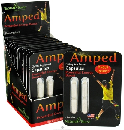 DROPPED: Neutralean - Amped Powerful Energy Boost - 4 Capsules CLEARANCE PRICED (Formerly Natural Burst)