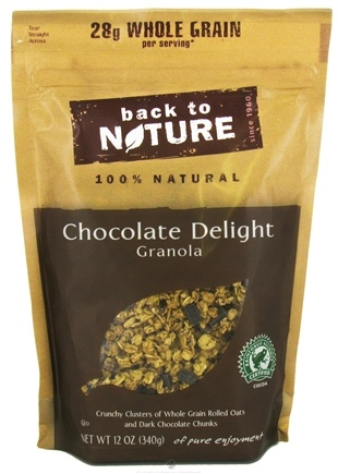 DROPPED: Back To Nature - Granola Chocolate Delight - 12 oz. CLEARANCE PRICED