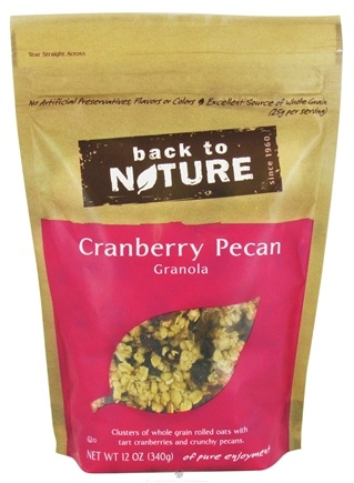 DROPPED: Back To Nature - Granola Cranberry Pecan - 12 oz.