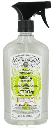DROPPED: JR Watkins - Natural Home Care Window Cleaner Aloe & Green Tea - 24 oz. CLEARANCE PRICED