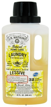 DROPPED: JR Watkins - Natural Home Care Laundry Detergent Lemon - 32 oz.