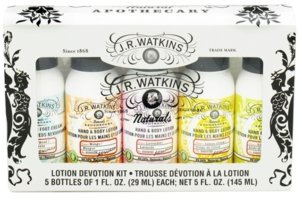 JR Watkins - Naturals Apothecary Lotion Devotion Kit - 5 Piece(s)